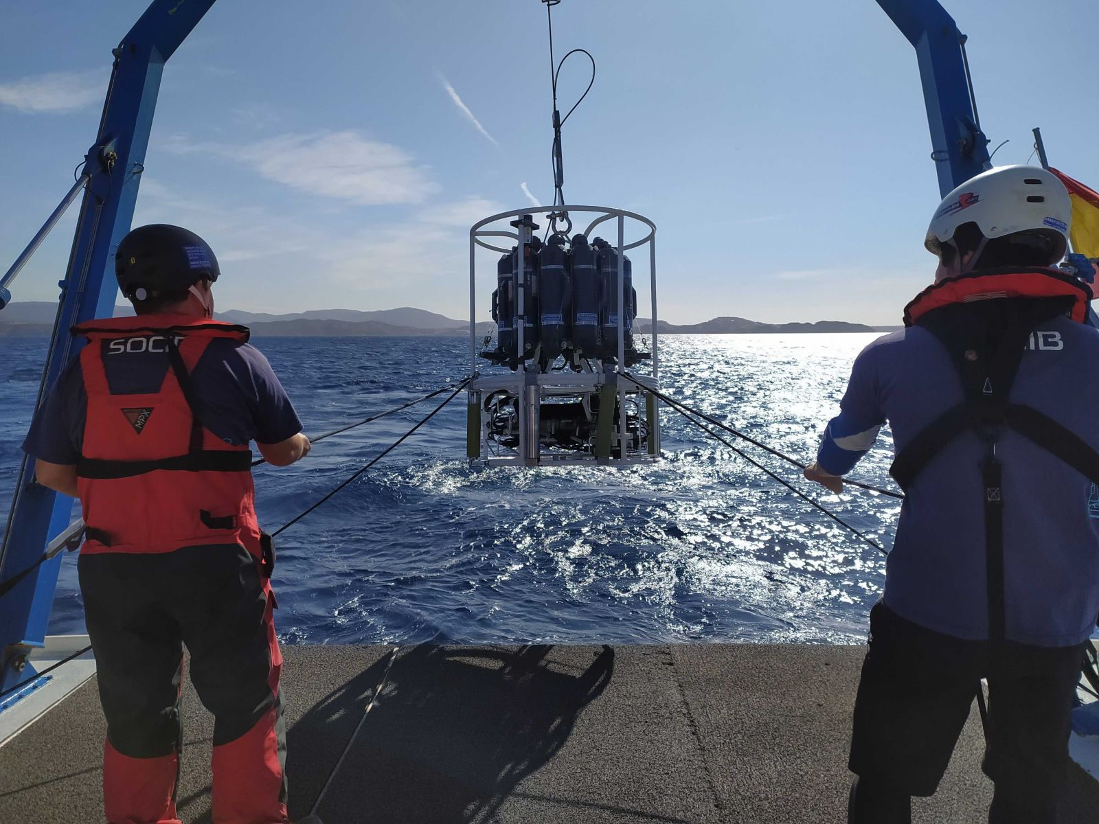 """""""CANALES SPRING 2021"""": New oceanographic cruise in the Mediterranean Sea by the research vessel SOCIB"""
