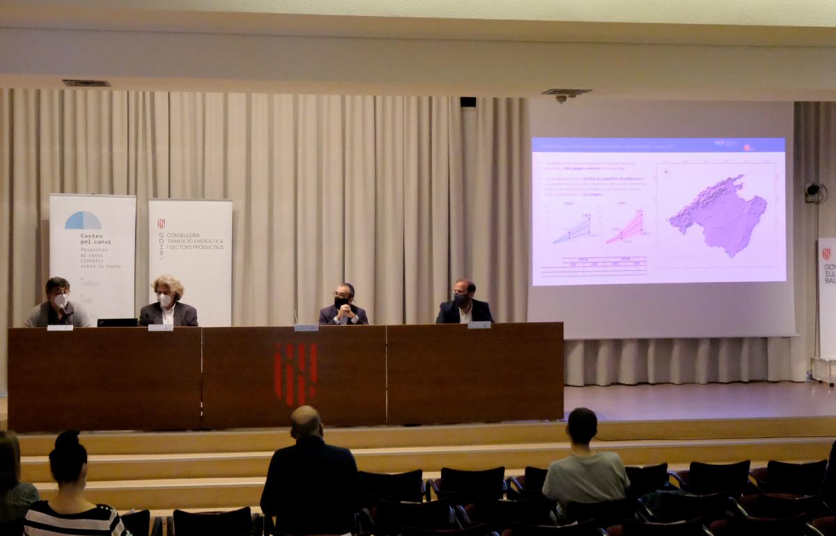 La ICTS SOCIB participa en la presentación del informe final del proyecto 'Costes pel Canvi'