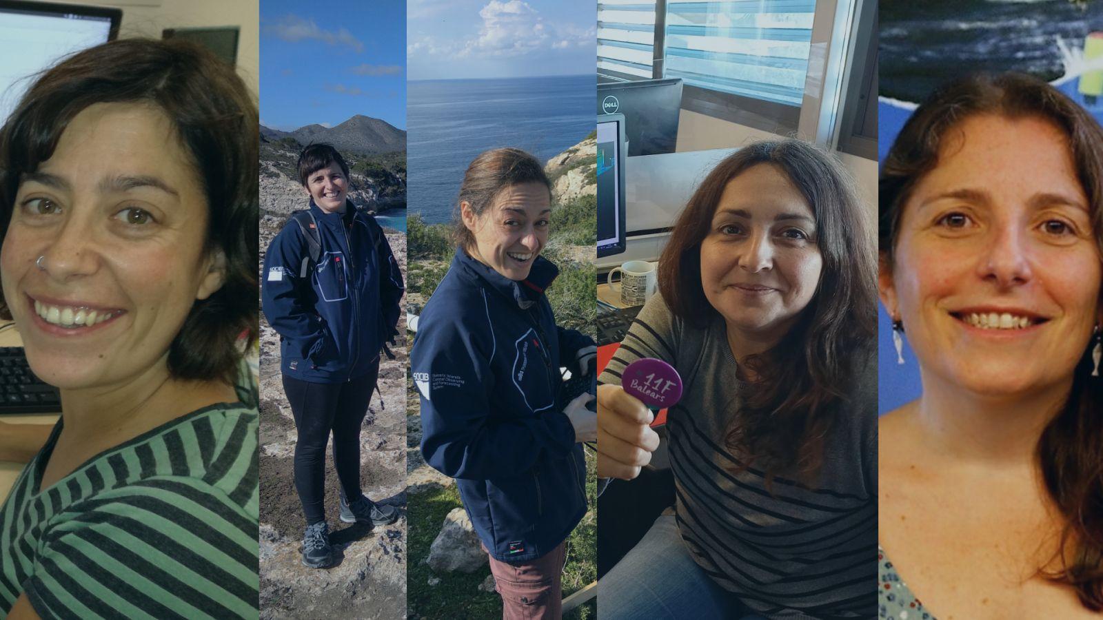 11F: Mujeres y ciencia (oceanografía) en la ICTS SOCIB