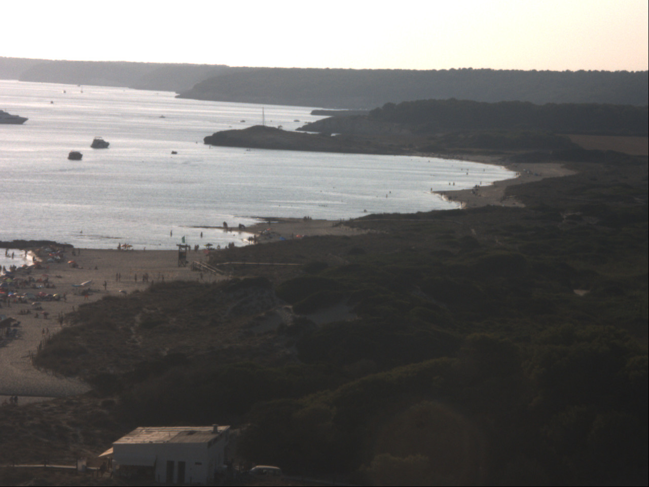 Webcam Son Bou (Minorca): Beach View Northwest